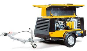 Високопродуктивні універсали з системою підготовки стисненого повітря і генератором MOBILAIR M 27 – M 122