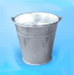 kaufen Verzinkte Eimer mit einer Kapazität von 5, 7, 10, 12 und 15 Liter für Lagerung und Transport von Flüssigkeiten, lose Lebensmittel und non-Food-Produkte