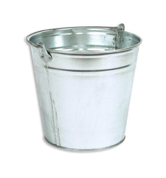 Ведра оцинкованные емкостью 5, 7, 10, 12 и 15 литров для хранения и переноски жидких, сыпучих пищевых и непищевых продуктов