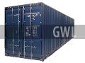 Контейнер 40 футов высокий. контейнер 40футов высокий, хайкьюб, 40HC, 40футовый контейнер высокий, высокая 40ка