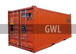 Контейнер 20 футов высокий, контейнер 20футов хайкьюб, 20HC, 20футовый контейнер, 20ка высокая