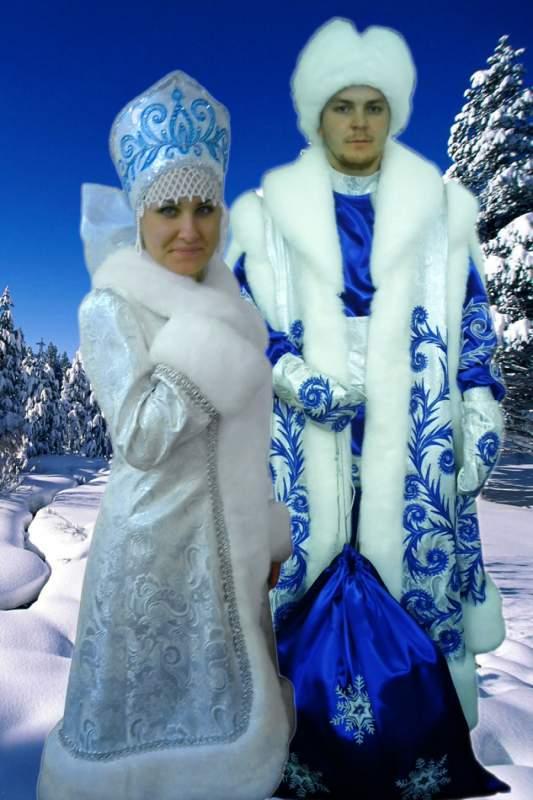 Костюм Діда Мороза й Снігурки від виробника Україна купити в Харків 3a214238e4acf