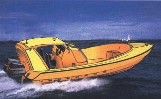 Купить Катер дозорно-спасательный из стеклопластика ДАНКО-650