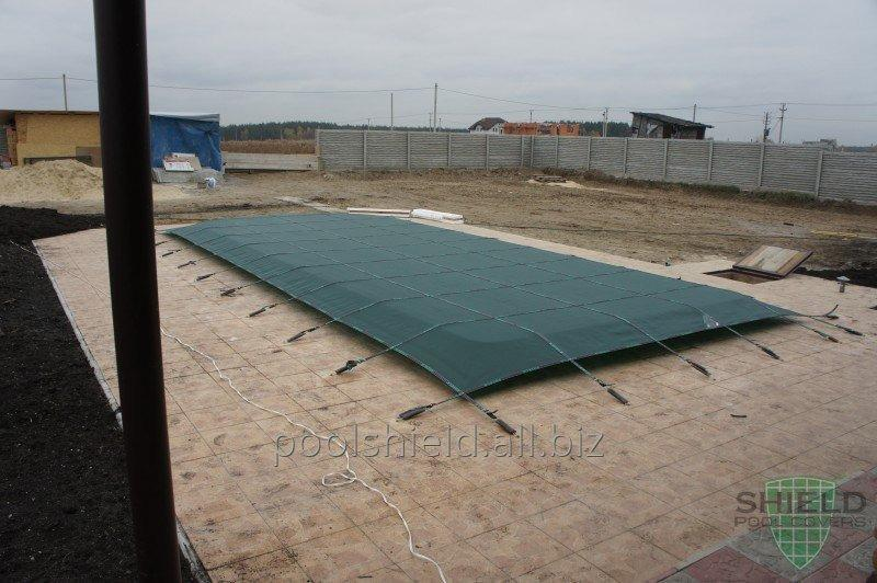 Universal Shield trampoline cover for the pool