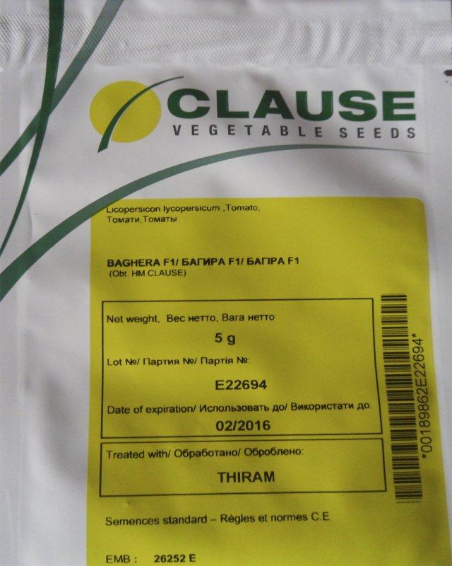 Купить Семена томата Багира F1 дет. Clause 5г