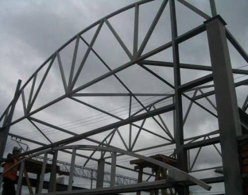 Купить Несущие металлоконструкции каркасного здания
