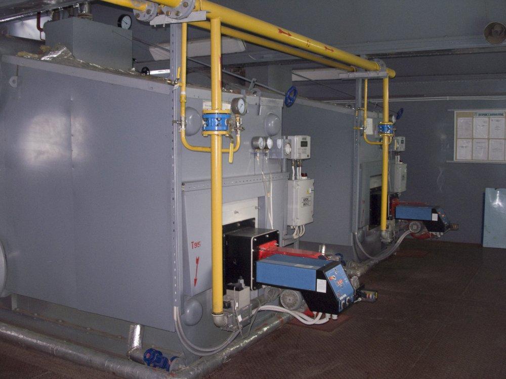 Boilers of a series \