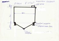 Емкости нержавеющие на 25м.куб. вертикальные, Херсон