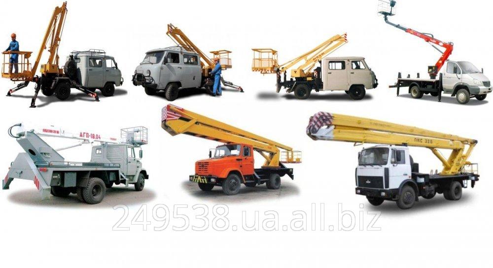 Купить Автовышка в аренду АП-17,АГП- 22, 27 и 32 метра в Кривом Роге и области