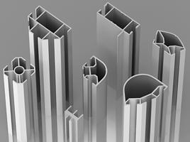 Buy Trade profile (Aluminum torgovo exhibition profile)