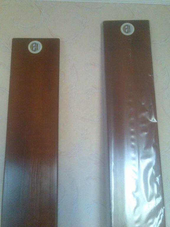 Buy The board (profilaktor) of Evminov for a backbone, the size is 250 cm (growth of 192-198 cm), a dark pine.
