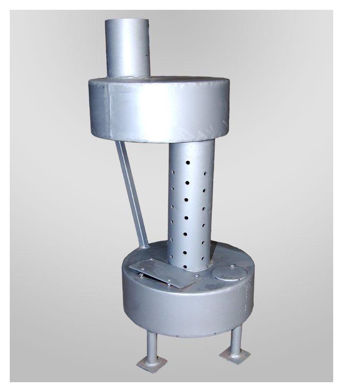 Печь-буржуйка на отработанном масле модель Б3
