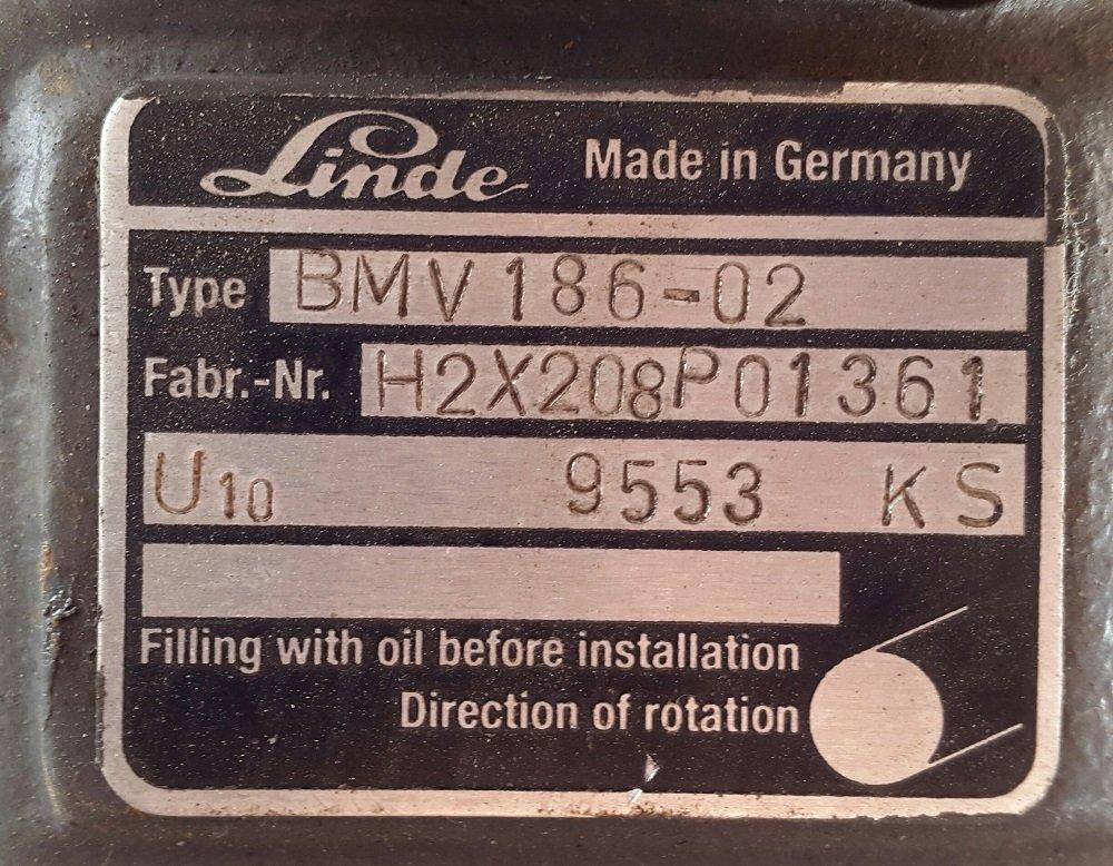 Buy Course hydromotor (hydrostatic) Linde BMV 186-02, No. 5801073, 5801073B, 5991562