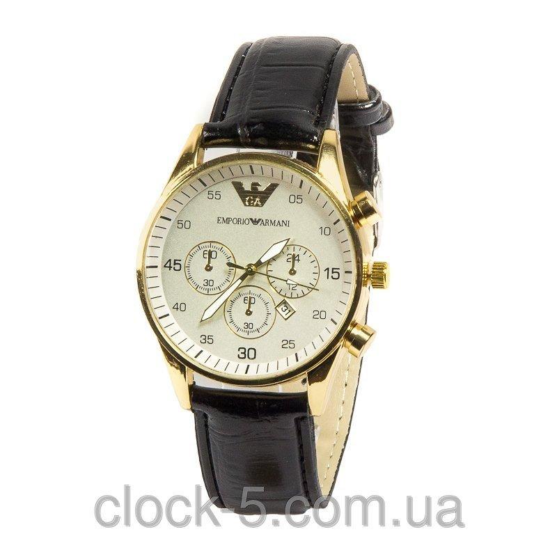 Чоловічий годинник Emporio Armani колір корпуса золото купити в Київ 5ea437dedb5f1