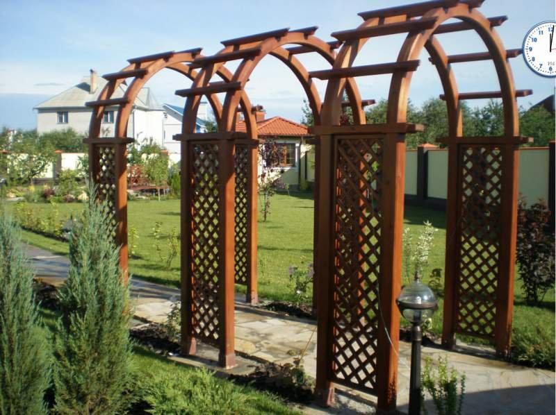 Купить Садовые арки и перголы