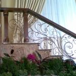 Купить Лестницы кованые ЛП12