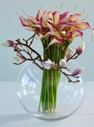 Эксклюзивные искусственные цветы купить купить канадские почвопокровные розы