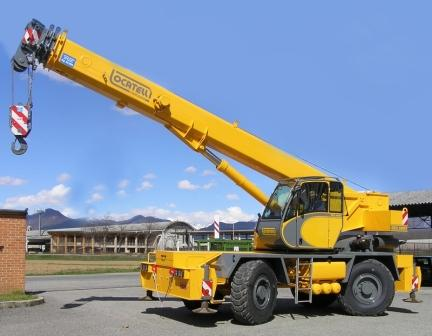 Cranes of the increased passability of Locatelli