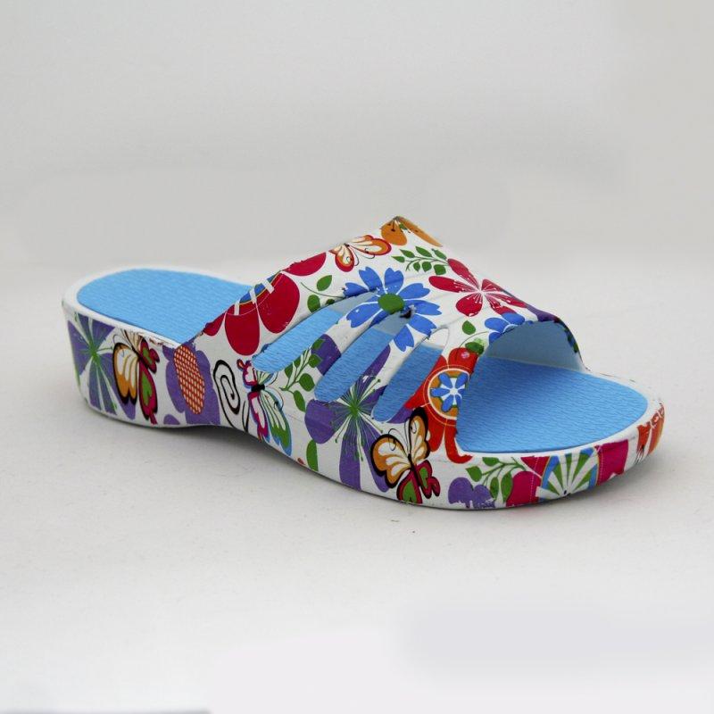 Купить Женские пантолеты цветные на платформе DFS-37