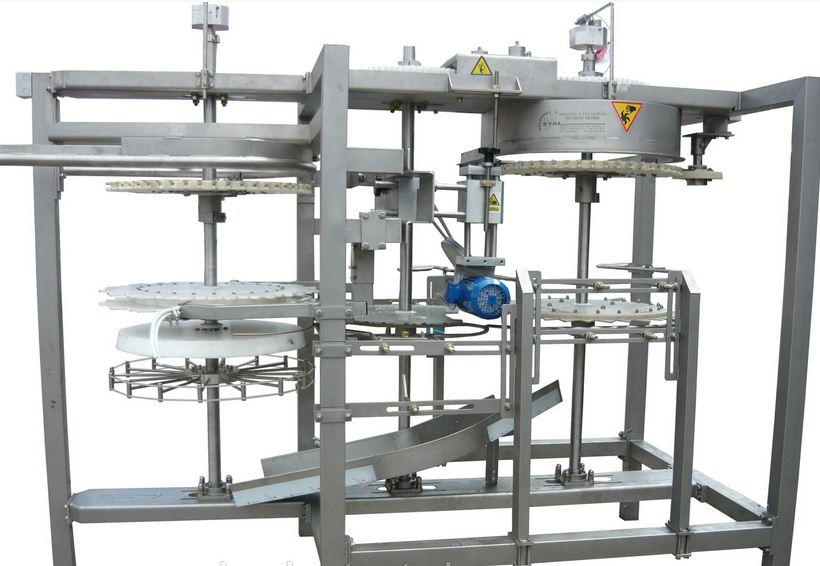 Купить Автоматическое устройство для перенавешивания тушек Тип APT-16