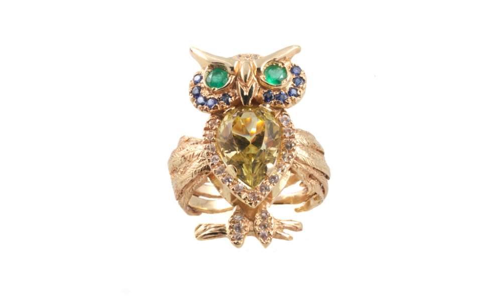 Золотое кольцо Сова
