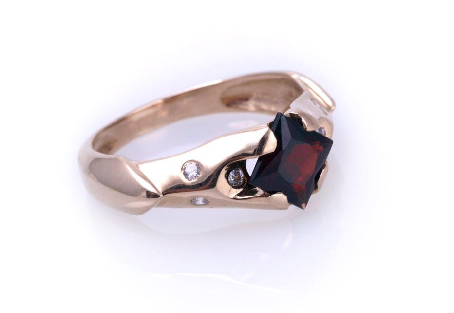 Кольцо золотое Артикул: К008