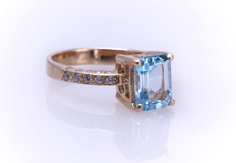 Кольцо золотое Артикул: К053