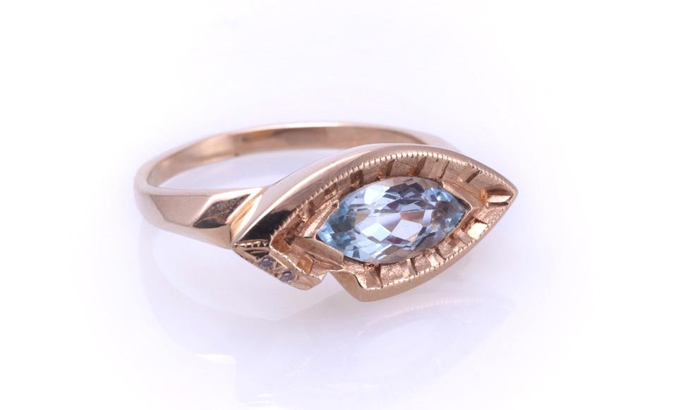 Кольцо золотое Артикул: К029