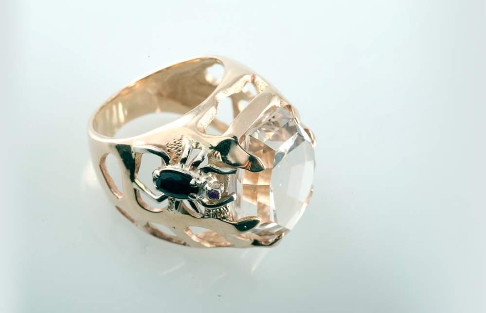 Перстень с пауком Артикул: К095