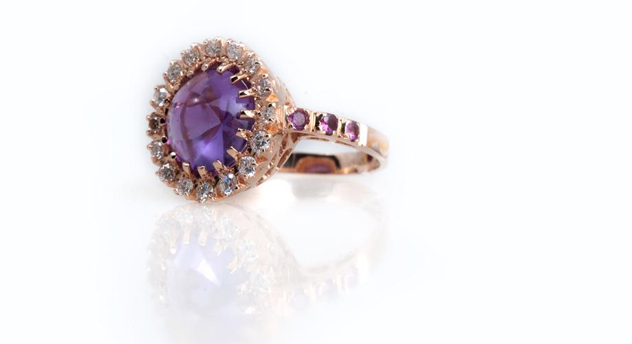 Эксклюзивное золотое кольцо Артикул: К115
