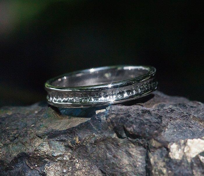 Купить Кольцо Hammered ring