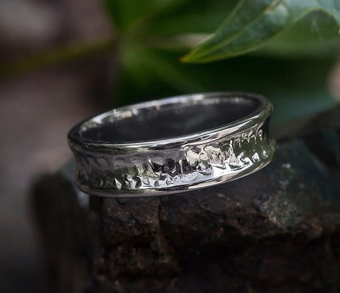 Buy Ring of Hammered ring ArHr07
