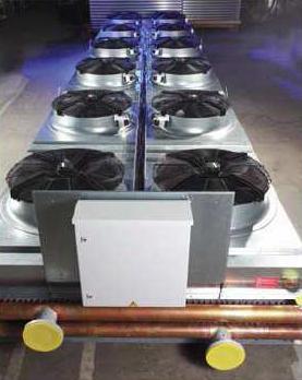 Купить Гликолевый охладитель с осевыми вентиляторами