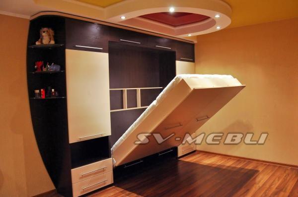 Шкаф кровать трансформер двуспальная