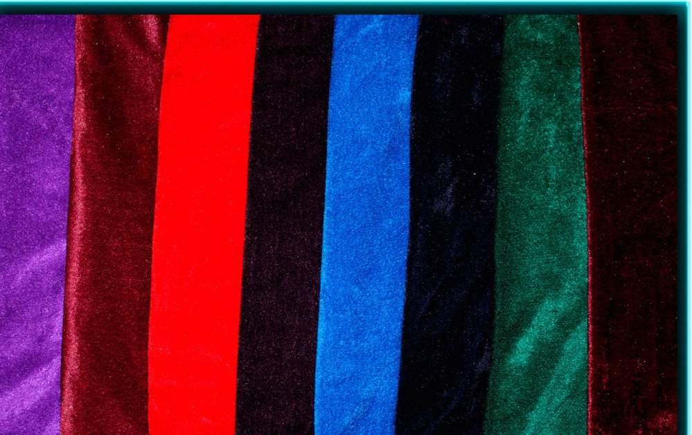 Ткань стрейч-велюр