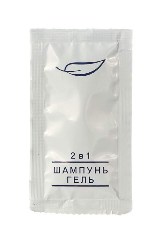 Шампунь-гель 2в1 в саше 10 мл
