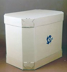 Октабин, контейнеры из 7-и слойного гофрокартона