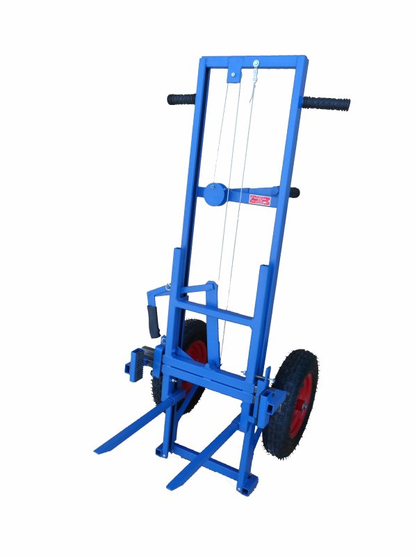 Apiary cart (APILIFT) TP-003 with wheels of their polyurethane.