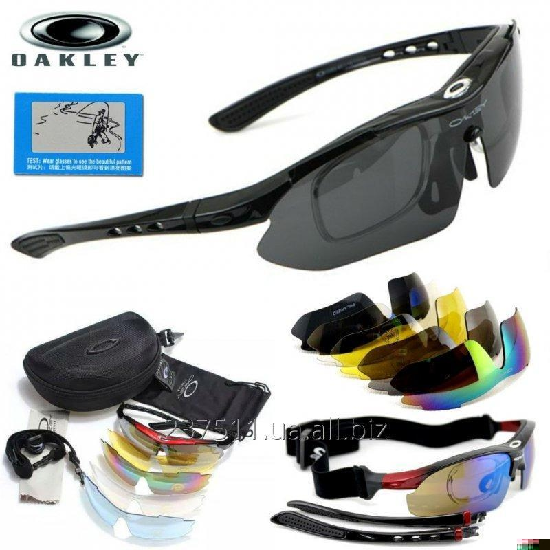 Tactical Points Of Oakley Polarized Black With 5 Replaceable