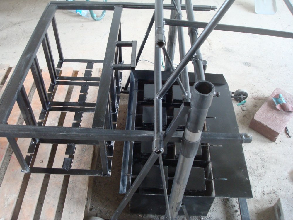 Buy The machine for production of slag stones of Komanch