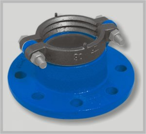 Buy Flange connection with a clip