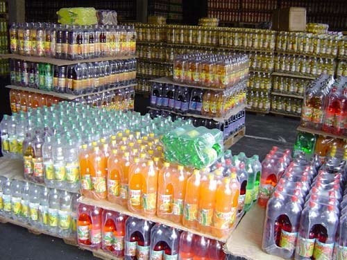 Напитки газированные ароматизированные