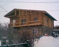 Купить Дом из оцилиндрованного бревна