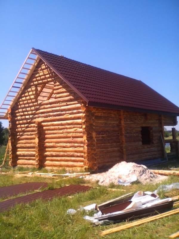 Дома по технологии дикий сруб Украина