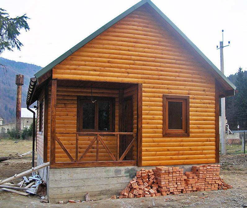 Каркасные домики и помещения