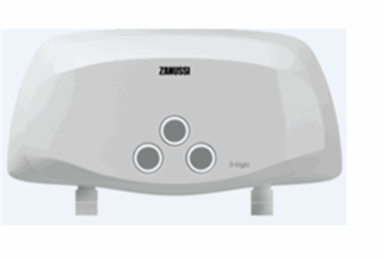 Buy Electric flowing water heater of Zanussi 3-logic S (3,5 kW) - a shower