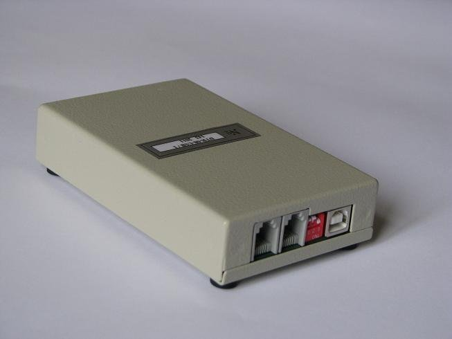 The DTR-08-USB device (2 channels) for Alarm DTR and CallCenter DTR