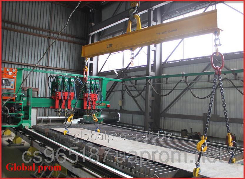 Грузовой захват для подъёма листовой стали в горизонтальном положении