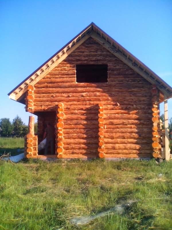 Купить Дома дикий сруб Украина