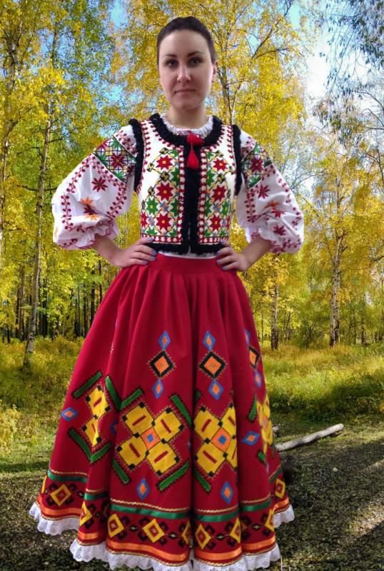 Молдавський жіночий національний костюм від виробника купити в Харків 18e07260e3fe2